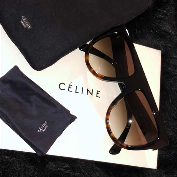 85b7b82c5d8d Celine Accessories | 100 Authentic Cline Havana Aviator Sun Glasses ...